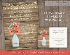 homemade wedding invitations - Google Search