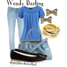 Wendy Darling, created by disneythis-disneythat on Polyvore
