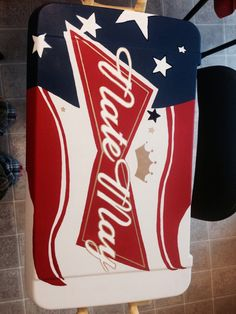 Custom Painted Cooler Large by everymileamemory on Etsy, $125.00
