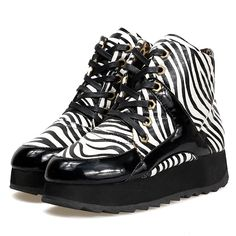 $38 Zebra Winter Boot