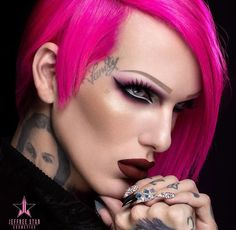 Jeffrey Star looks unreal in his Jeffree Star Cosmetics Campaign
