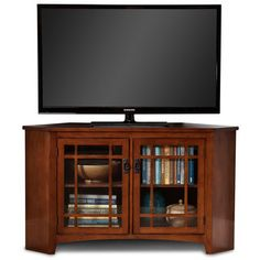 Shop for Art Van Mission Corner TV Console. Get free shipping at Overstock.com - Your Online Furniture Outlet Store! Get 5% in rewards with Club O!