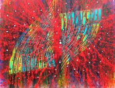 Oscilante Red, Perez Celis Whitman Poems, Miami, Museum Of Modern Art, Western Art, Abstract Art, Sculptures, Illustration, Painting, Tela