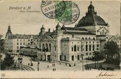 old Frankfurt Frankfurt, Historical Sites, Big Ben, Taj Mahal, Building, Travel, Antique Post Cards, Viajes, Buildings