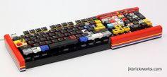 Functioning Lego keyboard