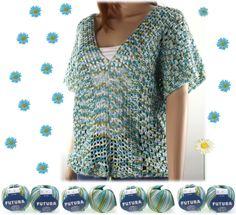 Anleitung - Oversize Shirt häkeln - - Anfänger - Häkelpulli - Pulli - Tunika - Viskose - Baumwolle