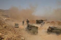 ΤΟ ΚΟΥΤΣΑΒΑΚΙ: Προελαύνει ο συριακός στρατός με τη στήριξη των Ρώ...