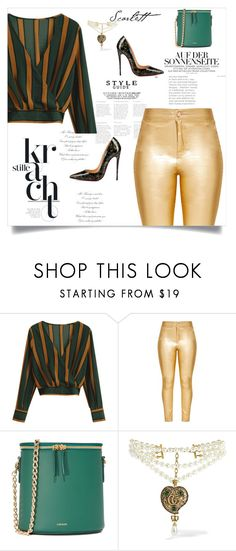 """""""335987"""" by lady-jg ❤ liked on Polyvore featuring Cuero&Mør, Gucci and Christian Louboutin"""