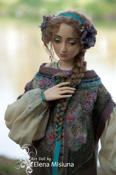 Любавушка Авторские куклы Елены Мисюны