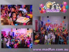 Kids Disco Melbourne Visithttpwwwmadfuncomaukidsbirthday - Children's birthday parties melbourne