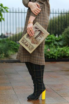 Mad about tartan.  These boots are to die for!