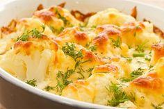 Conopidă dietetică la cuptor cu sos de usturoi - mâncați fără griji pentru siluetă! - Bucatarul