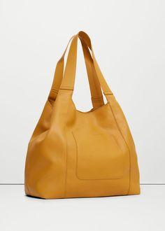 Pocket hobo bag | MANGO