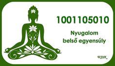 Nyugalom, belső egyensúly Reflexology, Karma