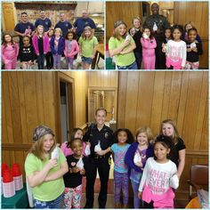 Girl Scout Troop #611 made thank you bags for local fire department, police department and sheriff's office in the aftermath of Hurricane Matthew. The girls wanted their first responders to know how much they appreciated all the hard work they do. Way to make a difference, Girl Scouts!