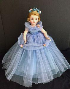 Forever My Girl, Vintage Madame Alexander Dolls, Old Dolls, Revlon, Vintage Dolls, Art Girl, Childhood, Tulle, Flower Girl Dresses