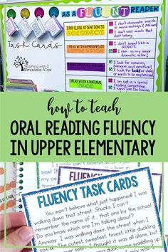 Teaching Oral Reading Fluency