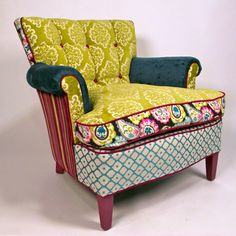 Laadedah  by Shawna Robinson.  #armchairs #furniture