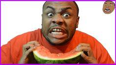 BLACK MAN TEACHES HOW TO EAT WATERMELON @SIGGAS