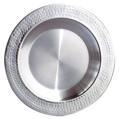 Leeber 13.5 in. Stainless Steel Charger Plate - 72608