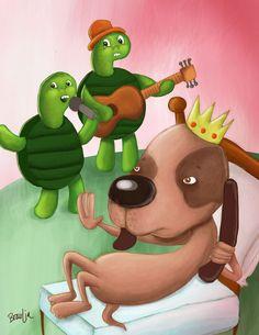 Ilustración 2012 by Braulia Diaz, via Behance