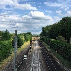 Marsha Valk   Artful Adventures Stroll Challenge: Boundary - rail road Railroad Tracks, Challenges, Adventure, Instagram, Art, Art Background, Kunst, Adventure Movies, Performing Arts
