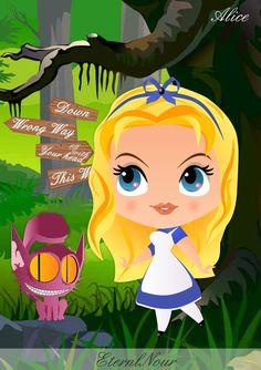 Alice au pays des merveilles Alice in Wonderland