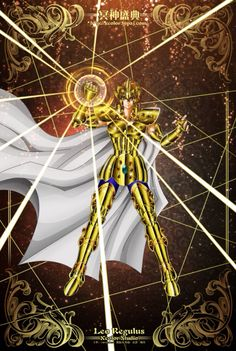 Saint Seiya - The Lost Canvas - Leo Regulus