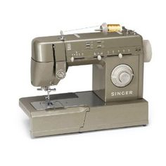 This is my machine, simple but heavy duty. Great for hemming and patching jeans, and nice detail stitches too.