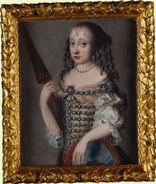 Anna Sophie of Denmark (1647 - 1717). Daughter of Frederick III and Sophie Amalie of Brunswick-Lüneburg. She married John George III, Elector of Saxony and had two sons.