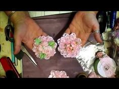 Gorgeous Handmade Shabby-Chic/Wedding Flowers - jennings644 - YouTube