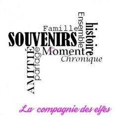 tampon SOUVENIRS histoire Famille