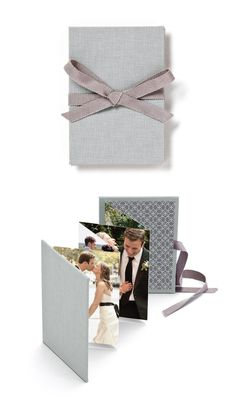 Gray Photo Brag Book