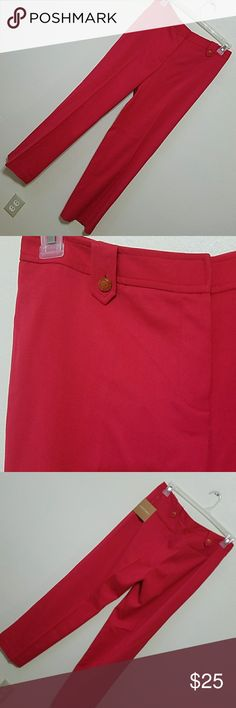ELLEN TRACY Red pants Georgeous bright red wide leg pants. Ellen Tracy Pants Wide Leg