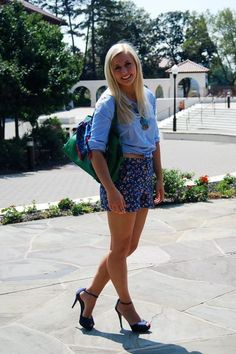 Wowza.. love how she pulled off those heels