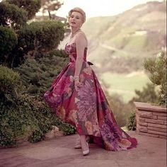 ZSA ZSA GABOR AT HOME IN BEL AIR ,CA