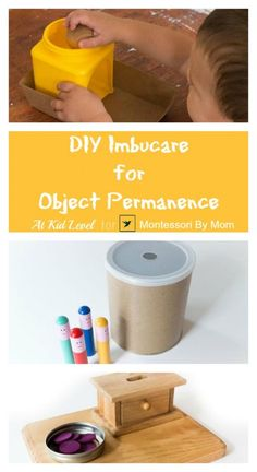 Great DIY project to keep the little ones busy while you work with your older child! These are so easy to make.
