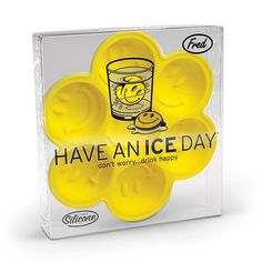 Have An Ice Day Ice Tray | By Fred | Yellow Octopus