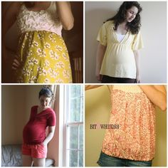 Maternity Sewing Tutorials Roundup 2011