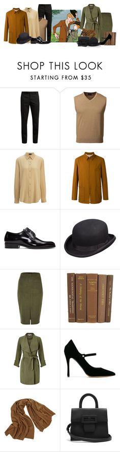 """""""101 Dalmatians"""" by inside-report ❤ liked on Polyvore featuring Yves Saint Laurent, Lands' End, Joseph, Lemaire, Scala, River Island, Miss Selfridge, Tabitha Simmons, JAG Zoeppritz and Maison Margiela"""