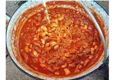 Kakashere pörkölt Kakashi, Chili, Food And Drink, Cooking Recipes, Favorite Recipes, Meals, Ethnic Recipes, Cook Books, Foods