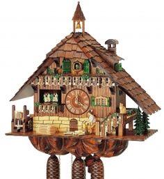 Reloj de cuco de la Selva Negra Schneider - Referencia de este reloj de cuco Schneider de la Selva Negra : 8TMT786/9 #relojes #watches