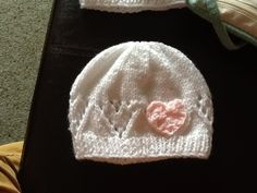 Heart hat for new born