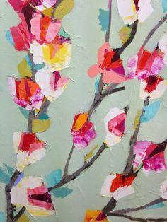 I want pretty: Lunes de cosas bonitas!/Random pretty stuff!Pintura de Anna Blatman.
