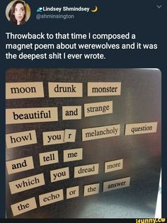 Post with 166 votes and 3852 views. Tagged with funny, memes, dump, memedump, phonedump; Shared by Phone Dump Funny - PART Memes Humor, Funny Memes, Hilarious, The Words, Pretty Words, Beautiful Words, Writing Prompts, Writing Tips, Poem Quotes