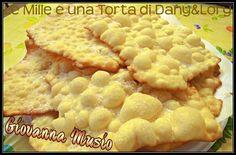 Condividi la ricetta...CRESCIOLE MARCHIGIANE REALIZZATE DA: GIOVANNA MUSIO Ingredienti: 300 g di farina 2 uova intere 1 uovo di latte (2 mezzi gusci pieni di latte) la scorza grattugiata di un limone la scorza grattugiata…