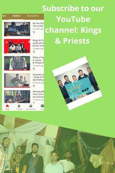 Kings & Priests -O come all ye faithful [Cover song] Album Art Video