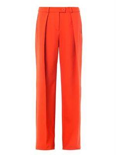 Preen by Thornton Bregazzi Taun wide-leg tailored trousers Thornton Bregazzi, Tailored Trousers, Unique Vintage, Fashion Addict, Diane Von Furstenberg, Wide Leg, Autumn Fashion, Legs, Clothes For Women