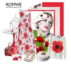 """Romwe 105."" by carola-corana ❤ liked on Polyvore"