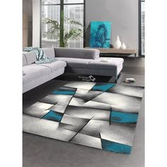 Tapis Triangula Bleu Tapis Moderne 160 X 230 Cm - Achat / Vente throughout Tapis De Salon Design Furniture, Bohemian Living Room, Easy Home Decor, Room, Living Room Furniture, Living Room Decor, Home Decor, Rugs, Rugs In Living Room